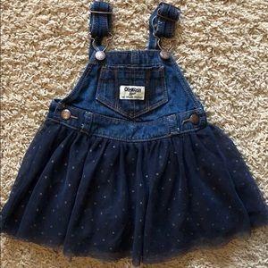 OshKosh B'Gosh tutu overalls